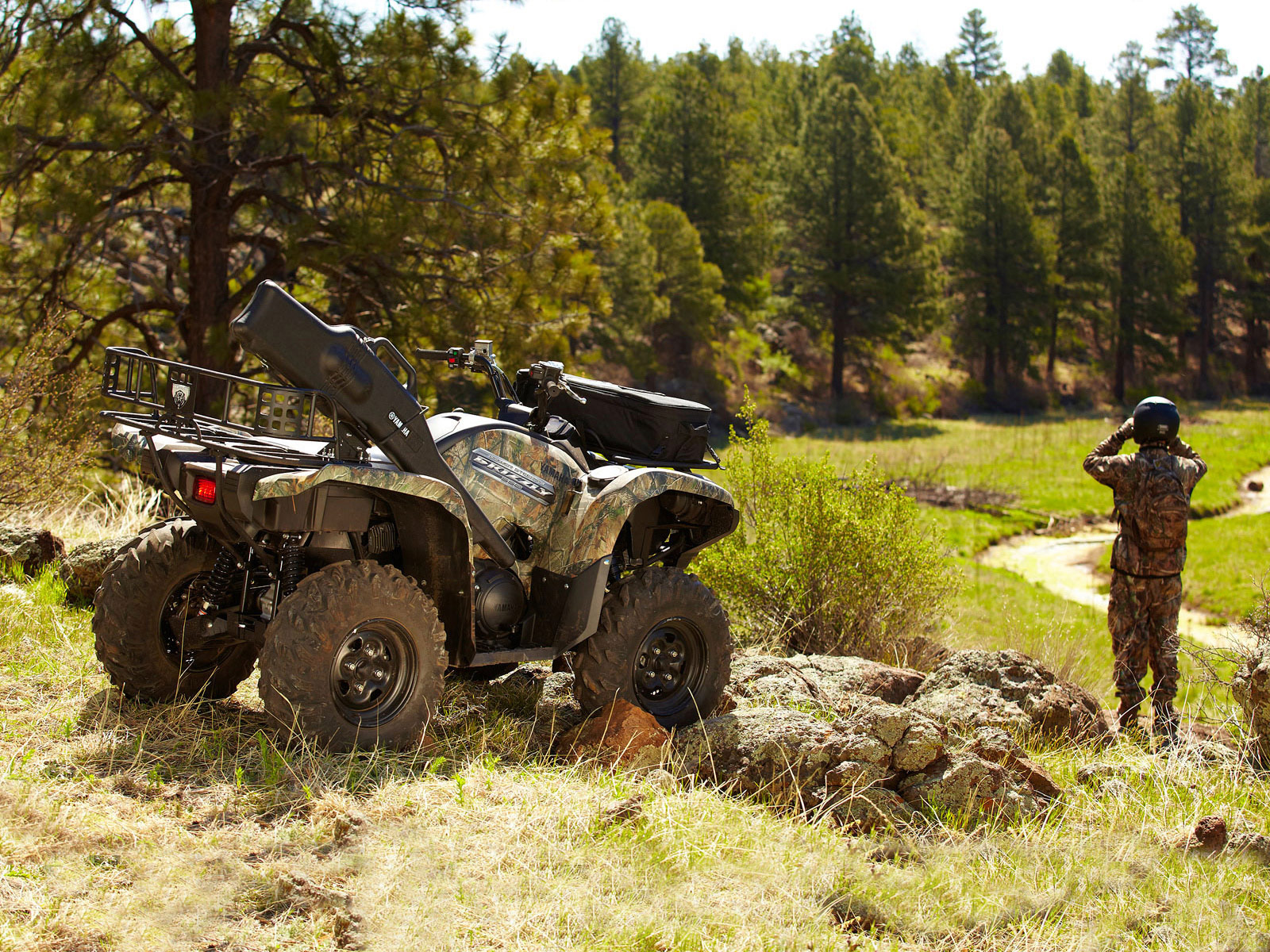 2012 YAMAHA Grizzly 550 FI Auto 4x4 EPS ATV pictures review 1600x1200