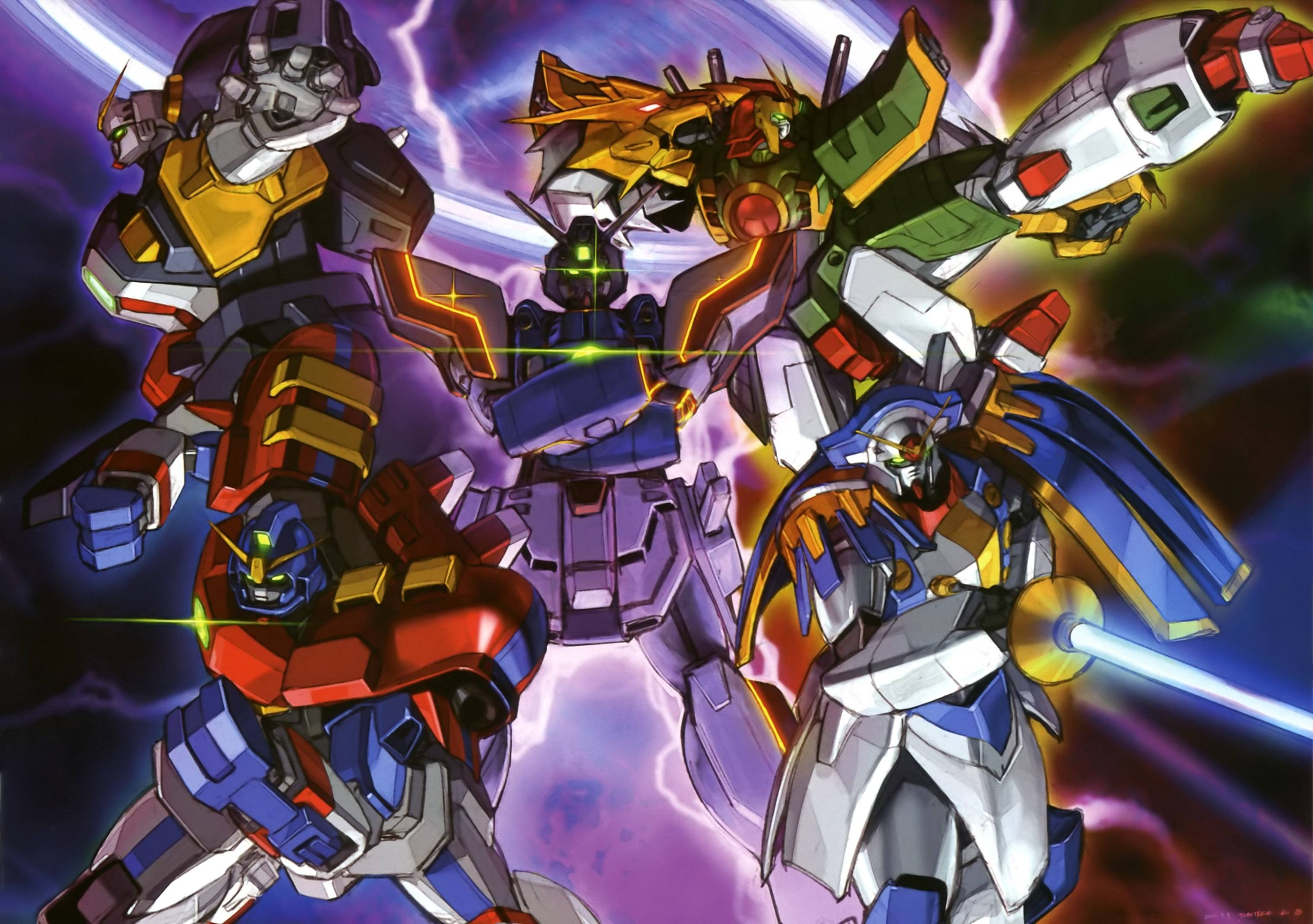 Images For Mobile Fighter G Gundam Wallpaper 3041x2141
