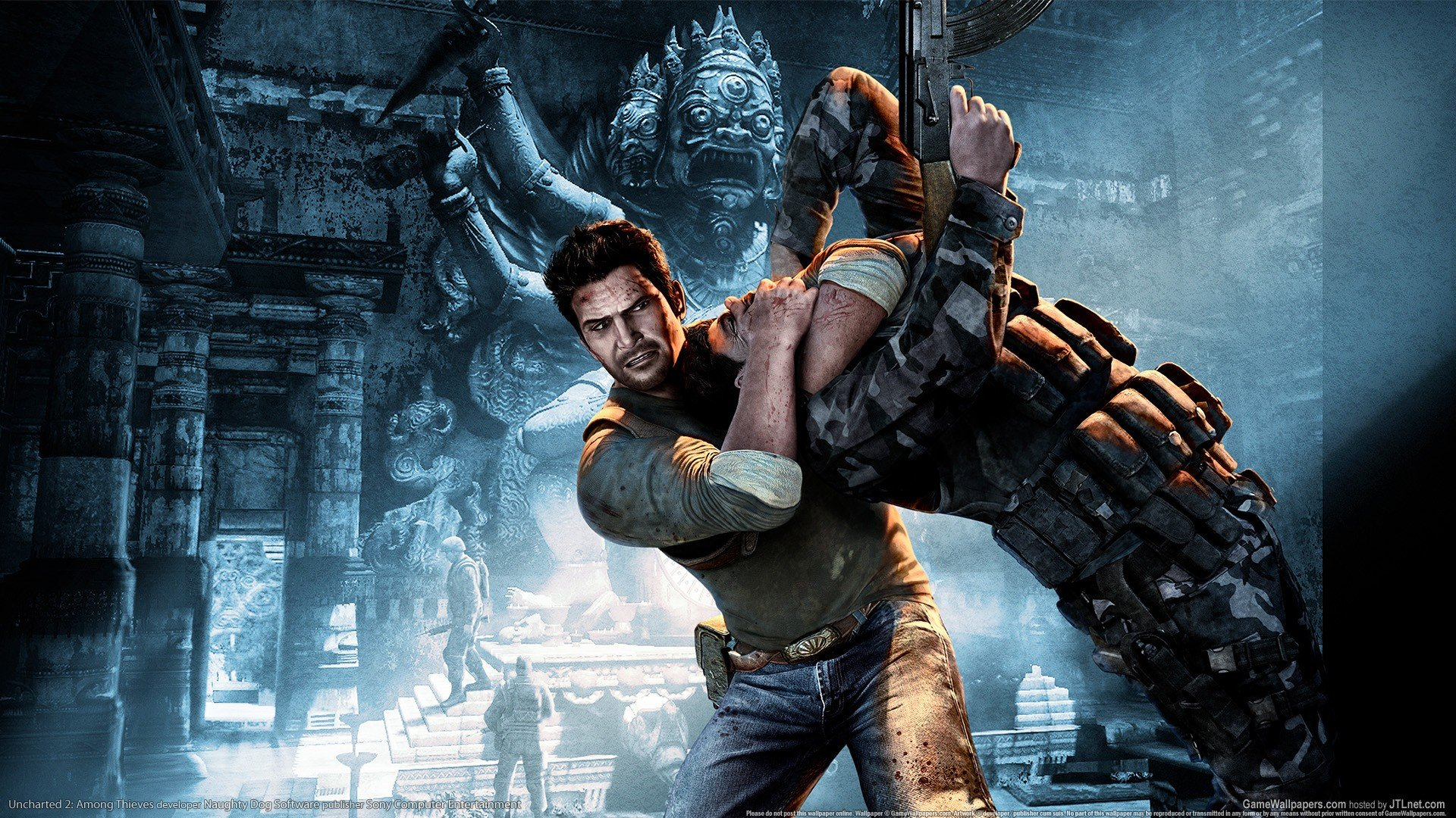 Free Download Video Games Uncharted Nathan Drake Uncharted 2