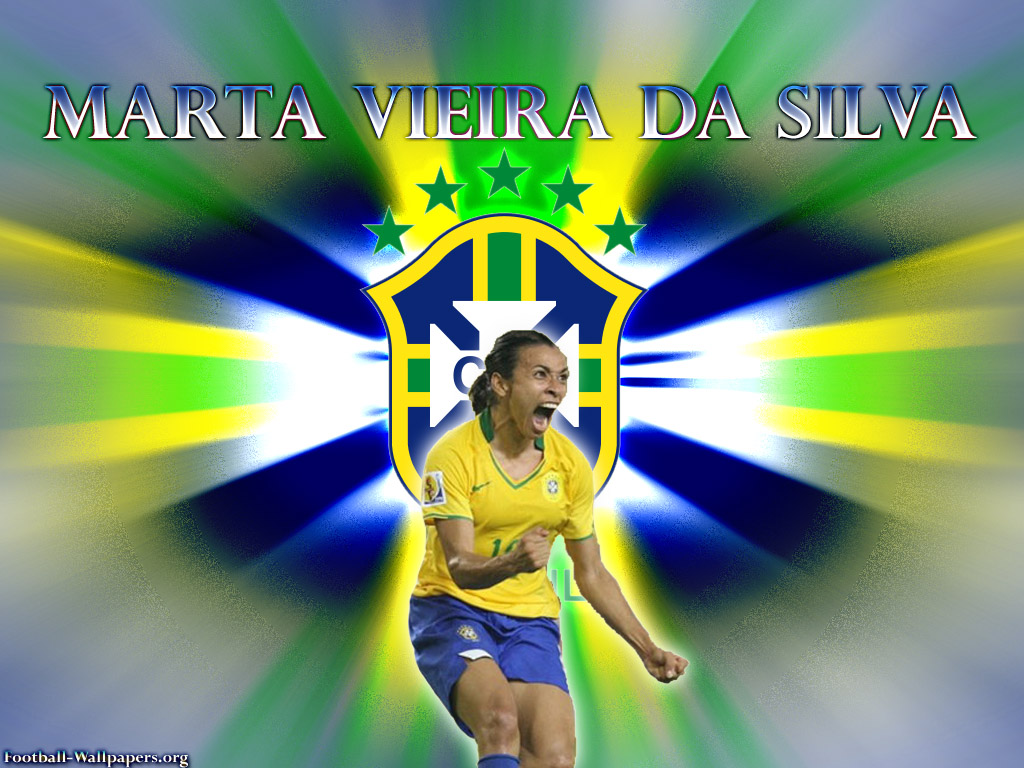Football Soccer Wallpapers Marta Vieira Da Silva Wallpapers 1024x768