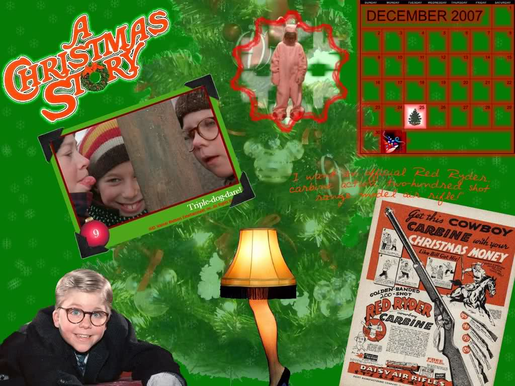 christmas story wallpaper