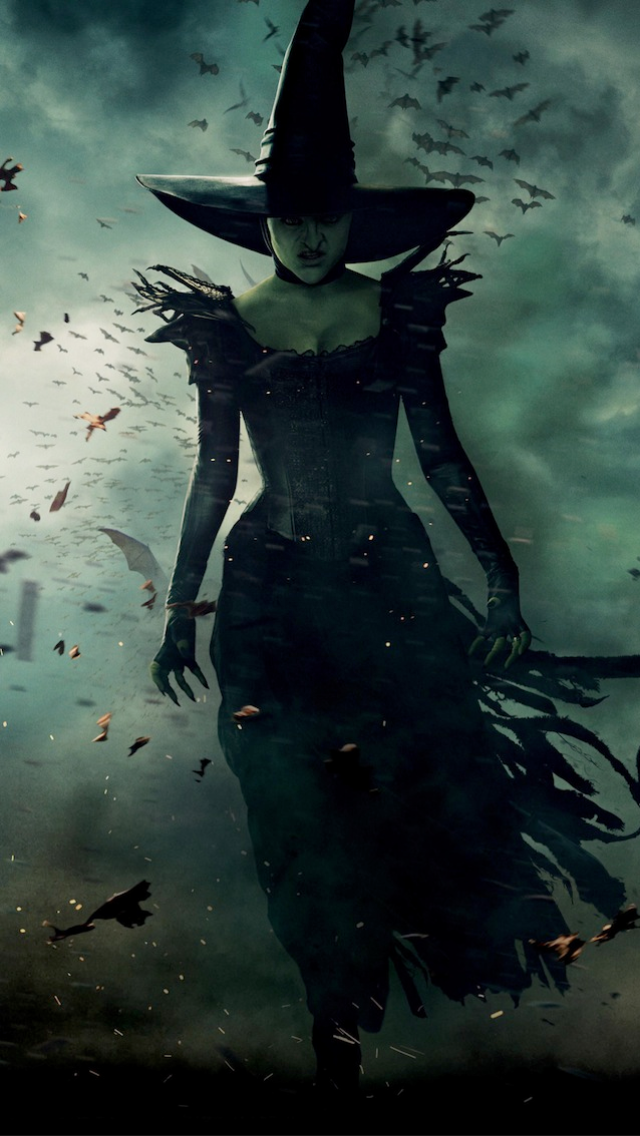 Wicked Witch Wallpaper 640x1136
