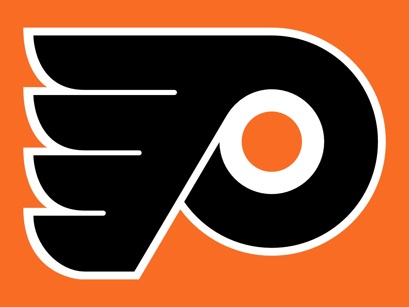 Philadelphia Flyers Logo Wallpaper 1365x1024