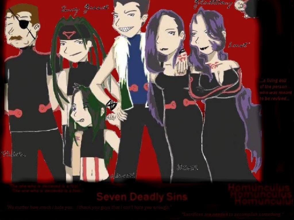 Seven Deadly Sins Wallpaper Seven Deadly Sins Desktop Background 1024x768
