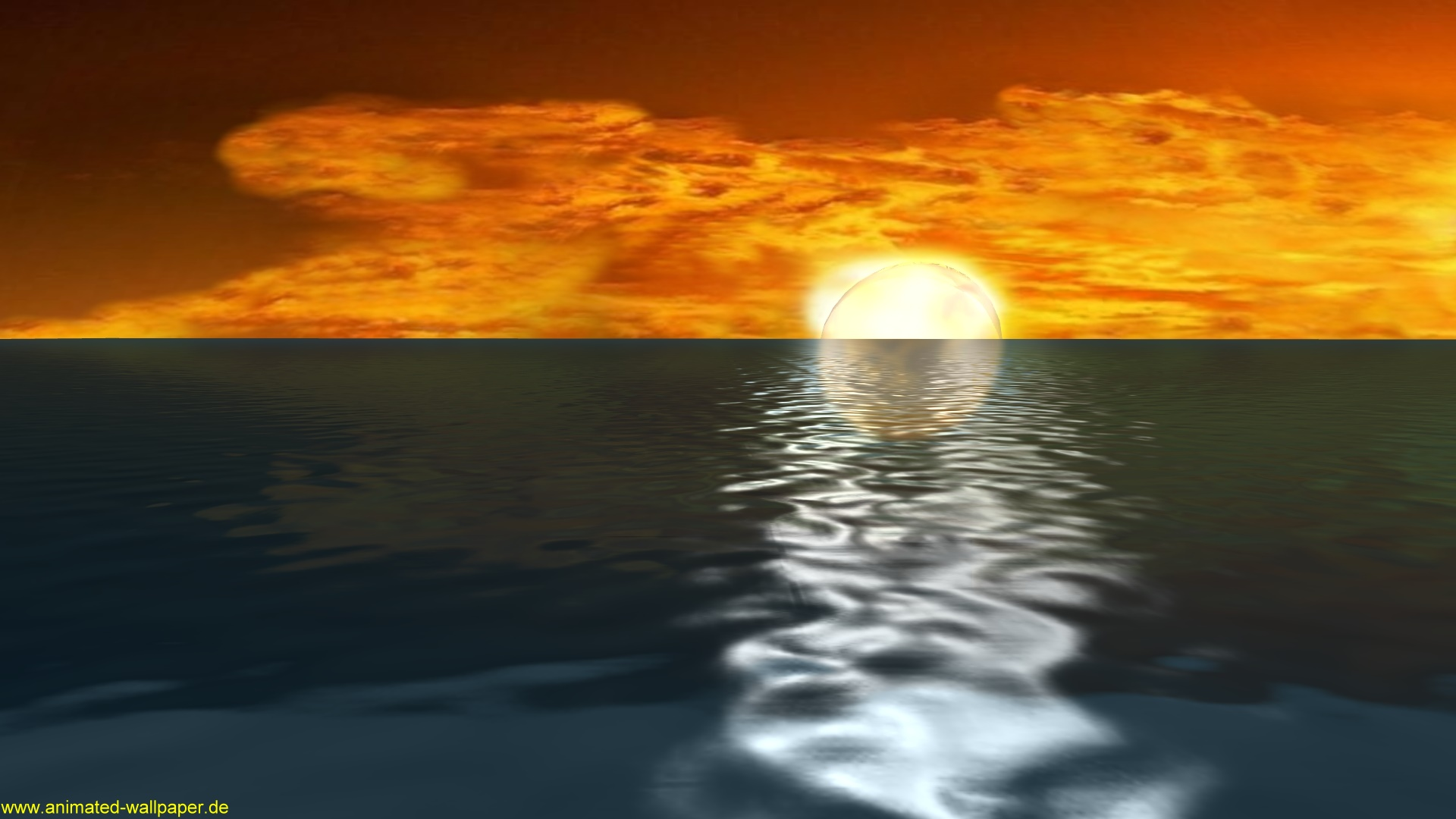 Um die Sunset Wallpaper Videos als animierten Desktop Hintergrund auf 1920x1080