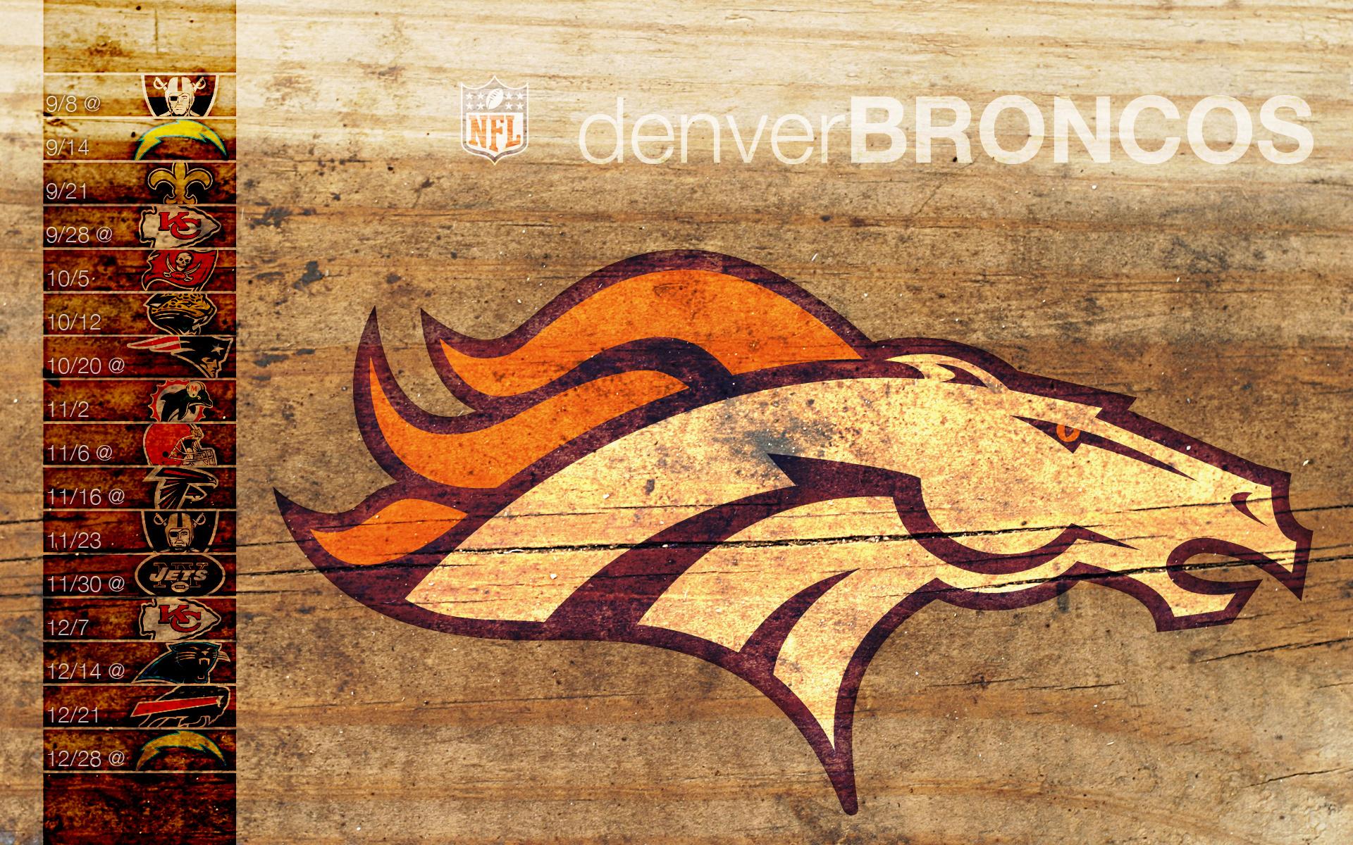 Denver Broncos HD wallpapers 1920x1200
