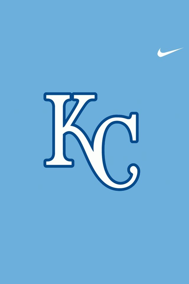 kansas city royals with nike logo wallpaper for iphone 4 within 640x960