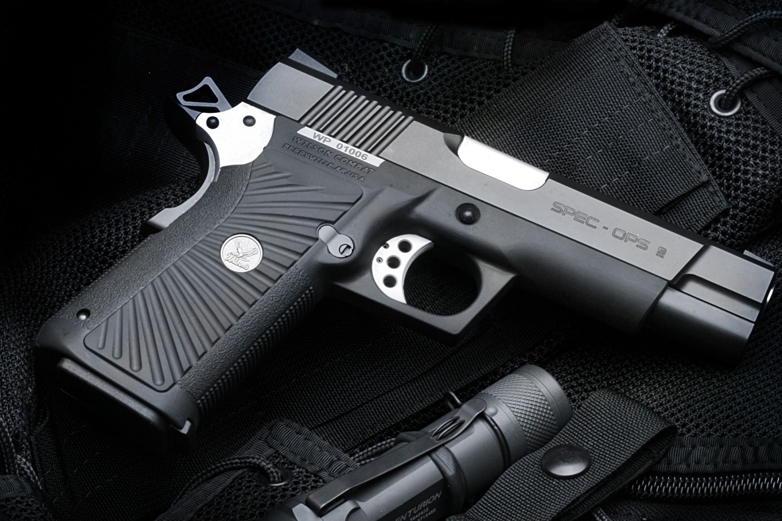 Wilson Combat black colt gun military wilson combat 1599x1066