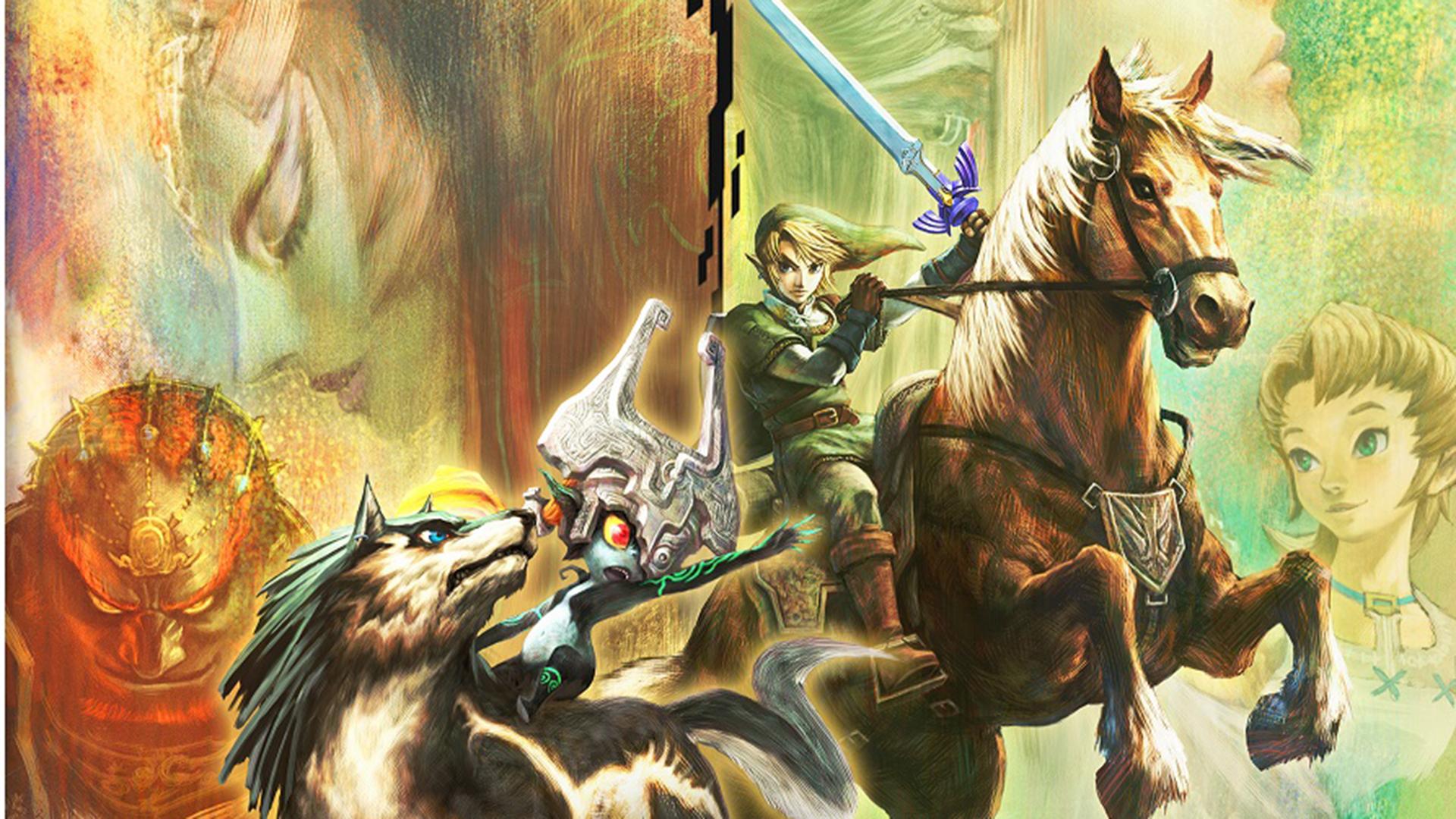 Free Download The Legend Of Zelda Twilight Princess Hd Wallpaper