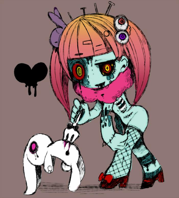 картинки милых зомби которое призвано
