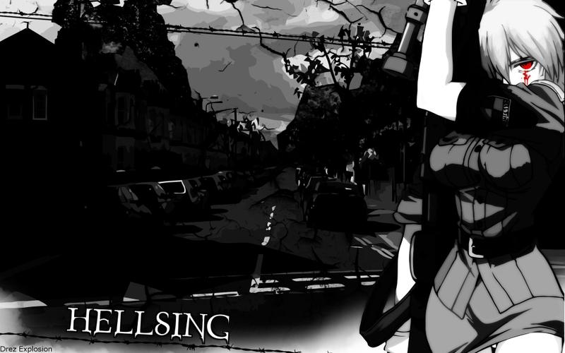 hellsing seras victoria 1920x1200 wallpaper Anime Hellsing HD 800x500