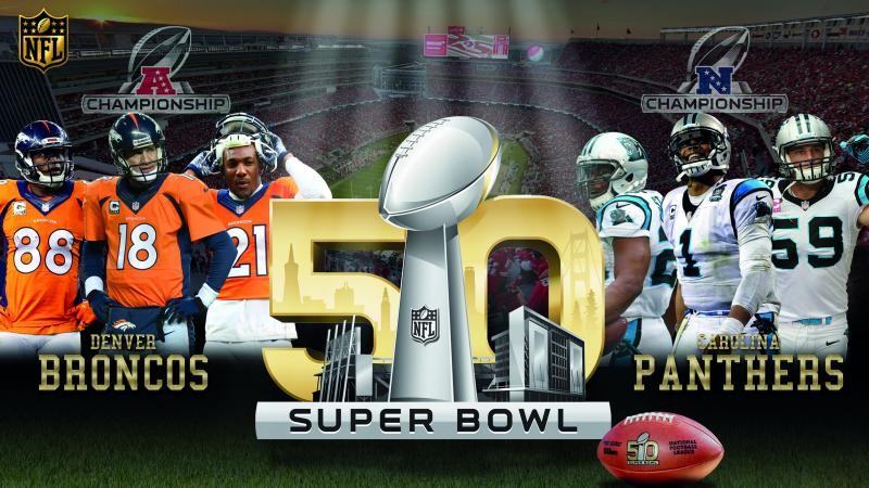 Broncos vs Carolina Panthers 2016 Super Bowl 50 Ultra HD Wallpapers 800x450