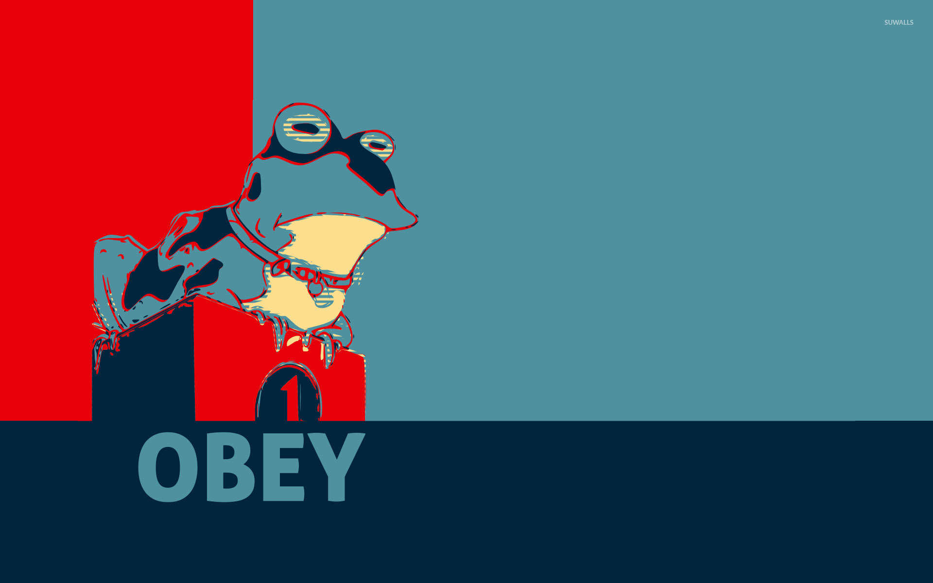 Obey wallpaper   Vector wallpapers   28683 1920x1200