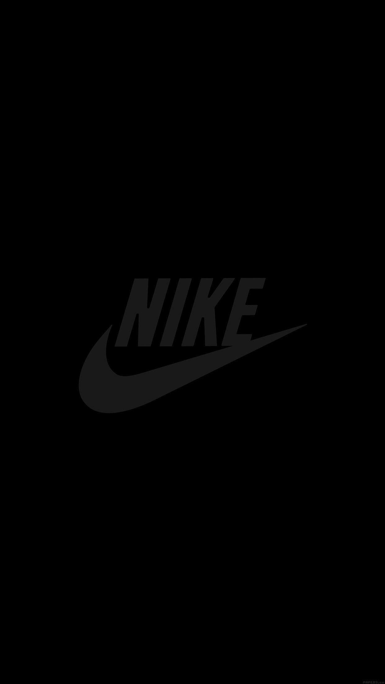 Nike Black iPhone Wallpapers on WallpaperDog 1242x2208