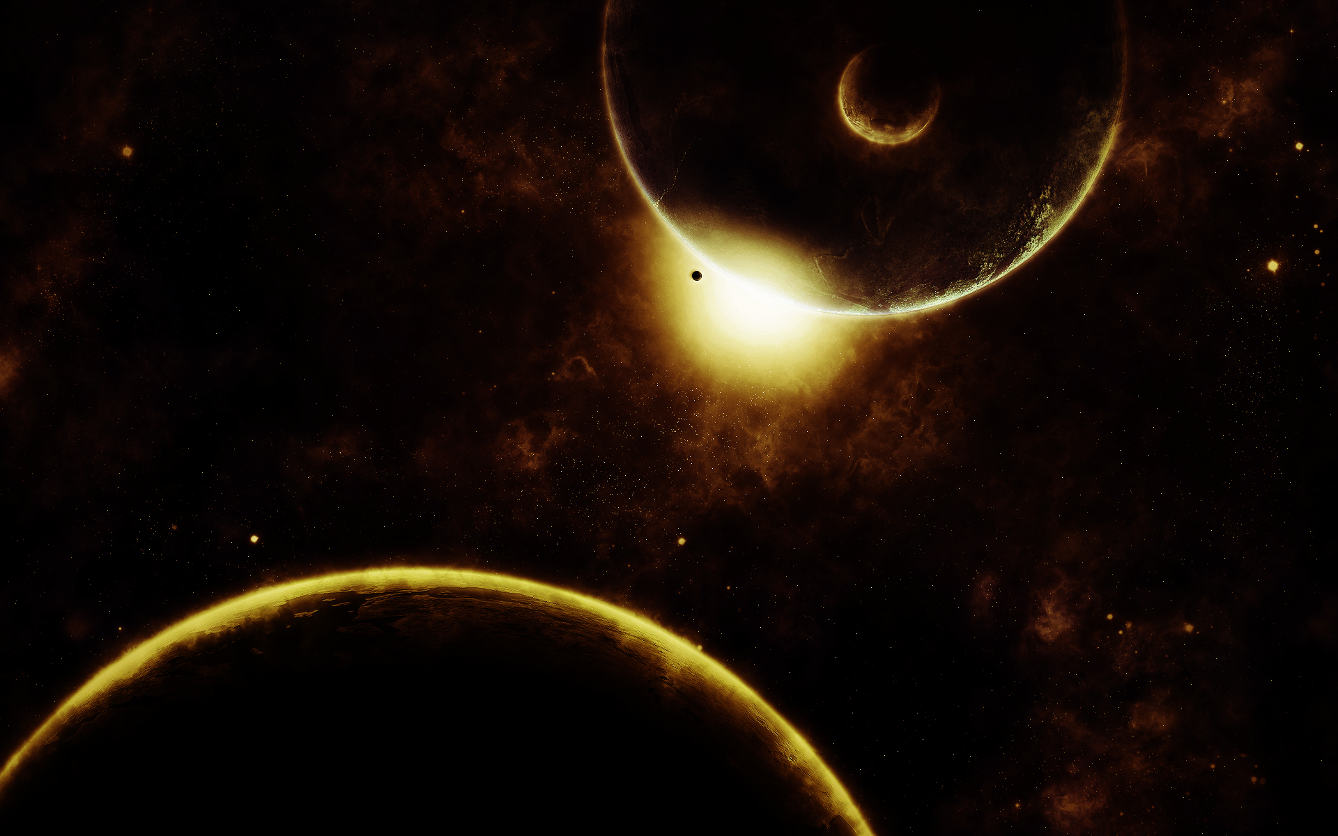dark space wallpaper smilindeth art 1920x1200