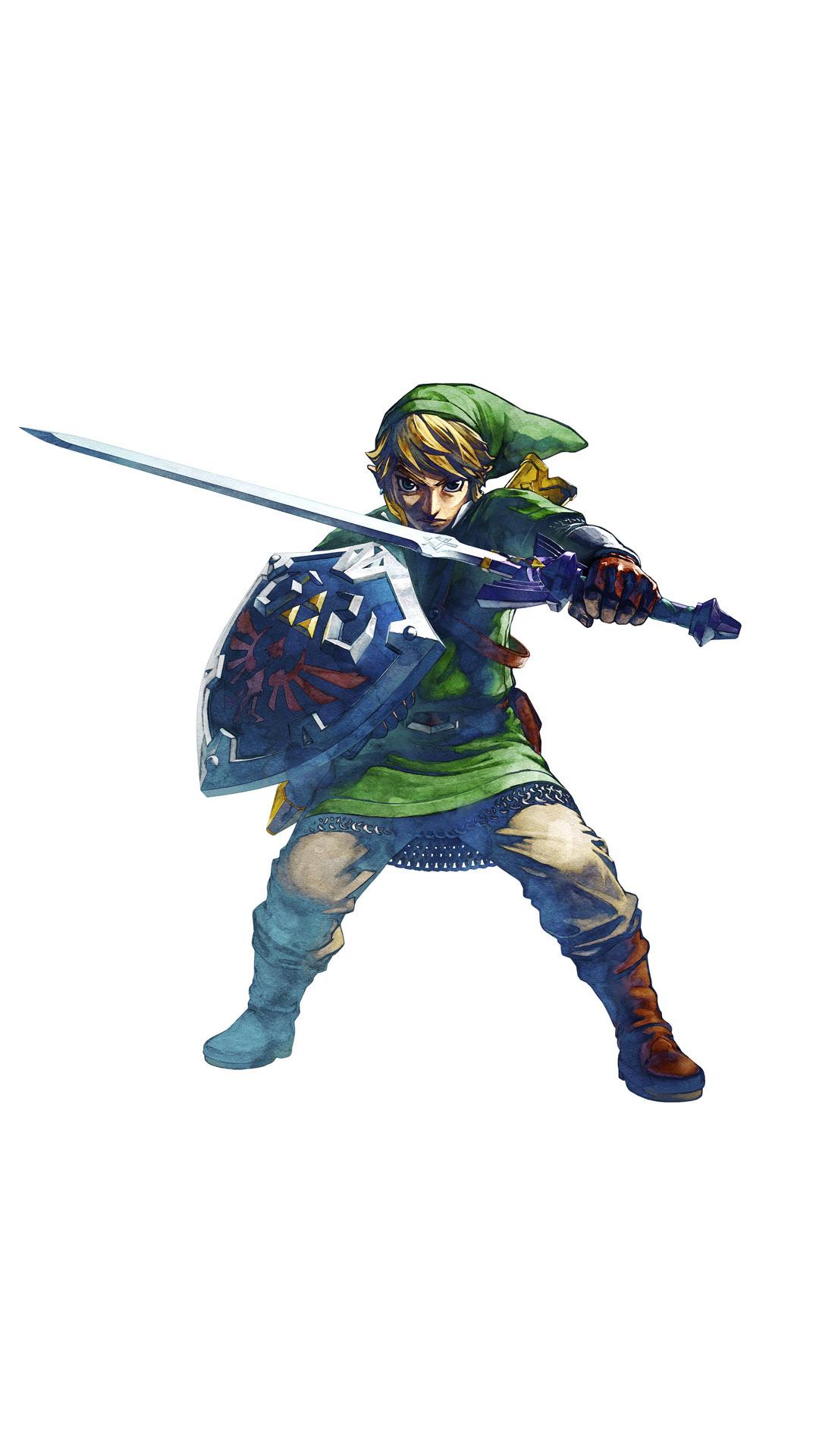 Download Hd Legend Of Zelda Link Mobile Phone Wallpapers 1080x1920