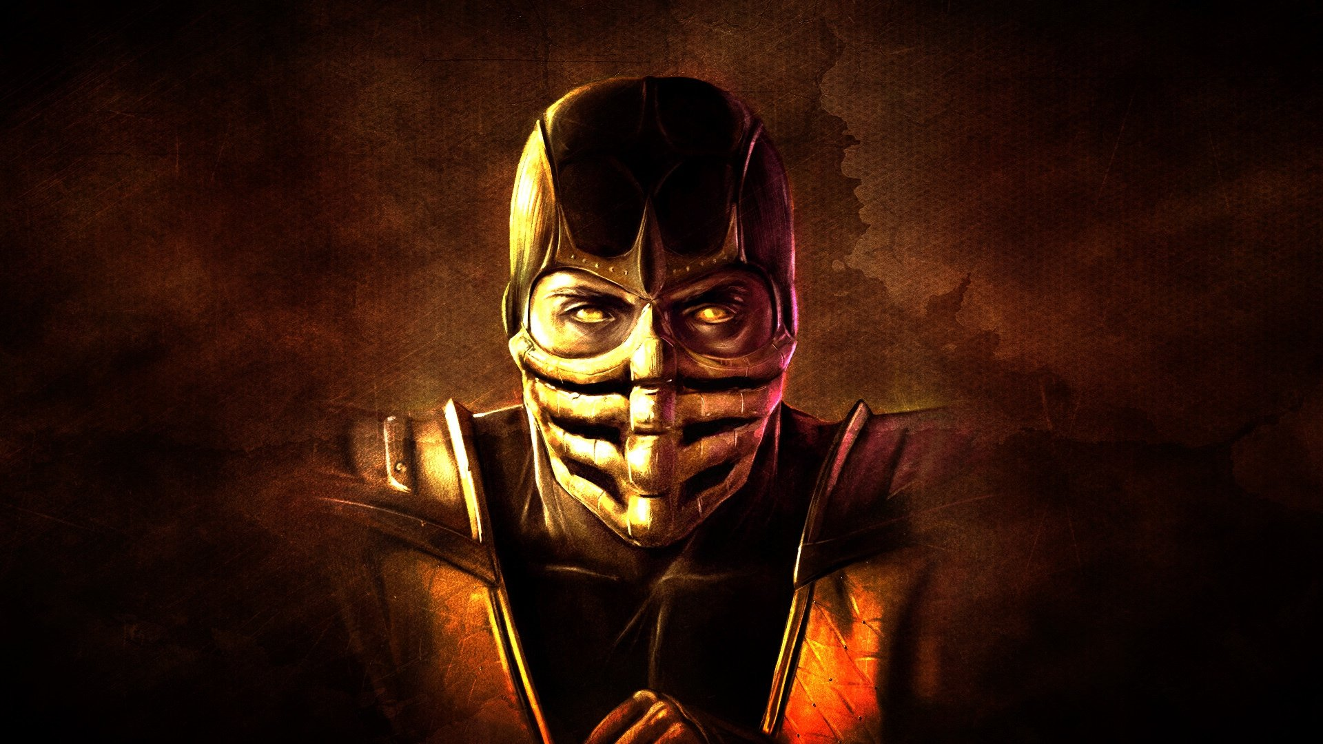 full hd scorpion mortal kombat wallpaper