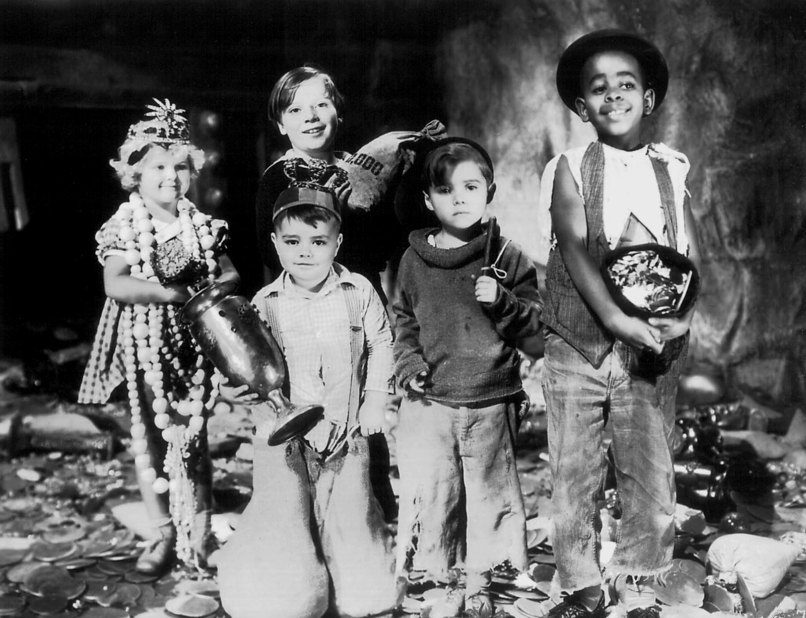 The Little Rascals   Spanky George MacFarland   Eve Out of the Garden 1600x1227