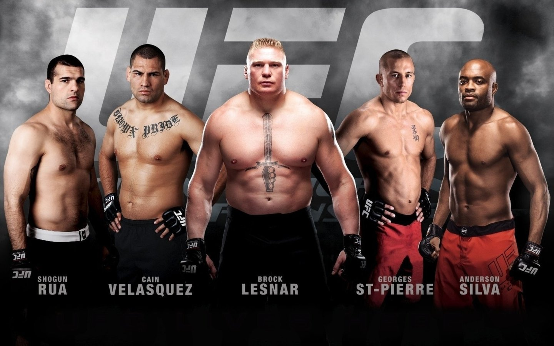 UFC Champions past present   Desktop Wallpaper 1440x900
