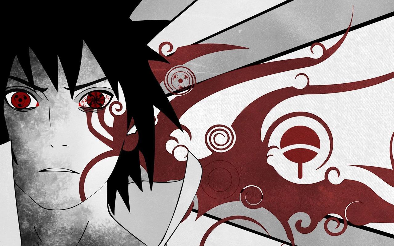 Uchiha Sasuke   Naruto wallpaper 17146 1280x800