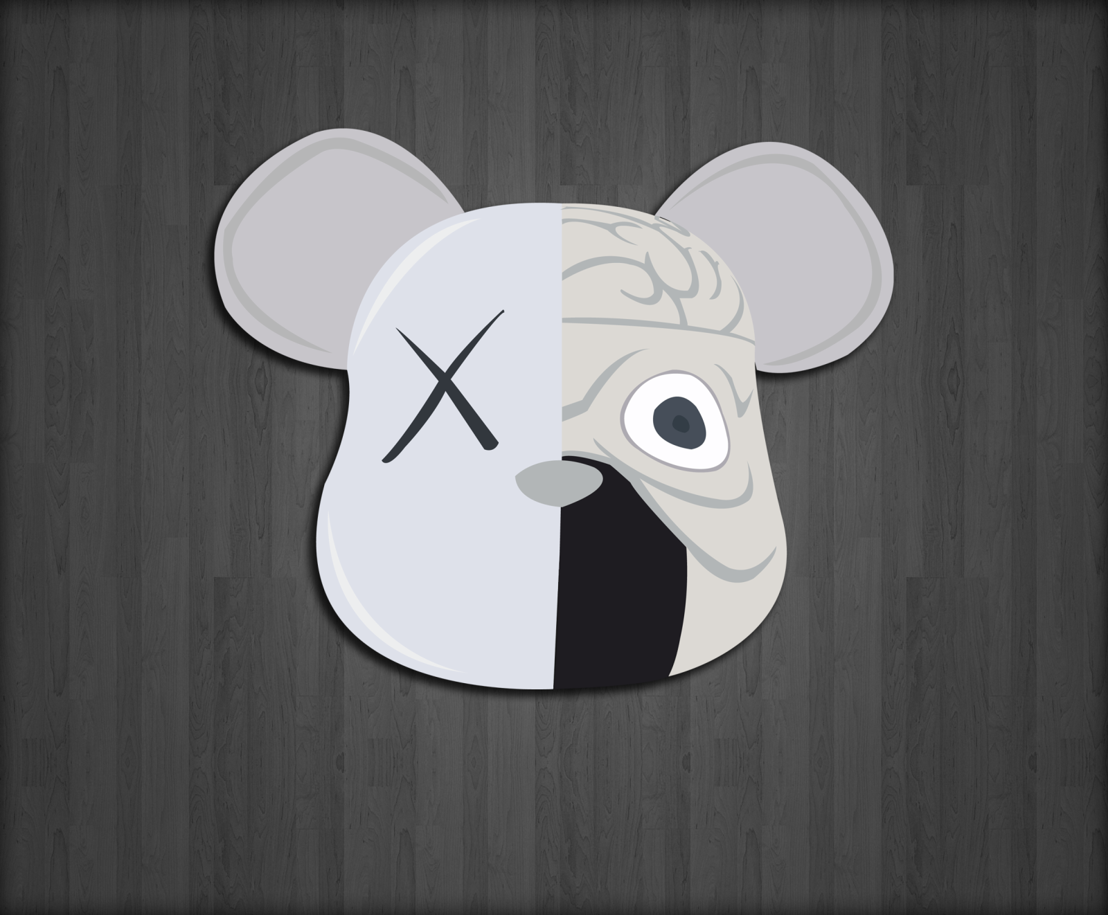 Kaws Wallpaper that I made for my laptop 1600x1322