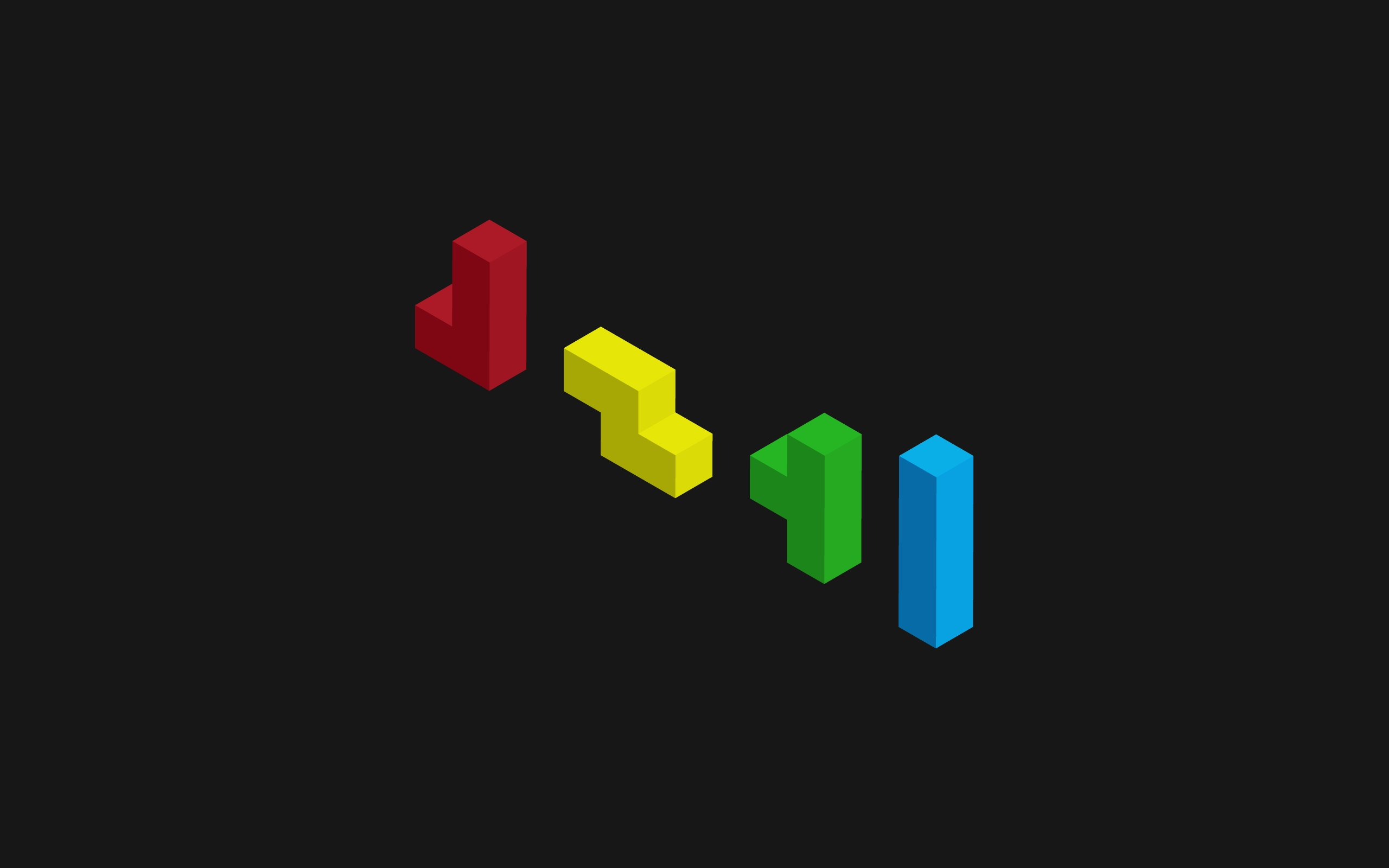 minimalist tetris game videogames wallpaper background 2560x1600