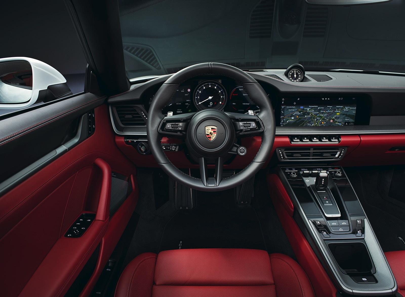 2020 Porsche 911 Carrera Cabriolet Interior Cockpit Wallpapers 59 1600x1174
