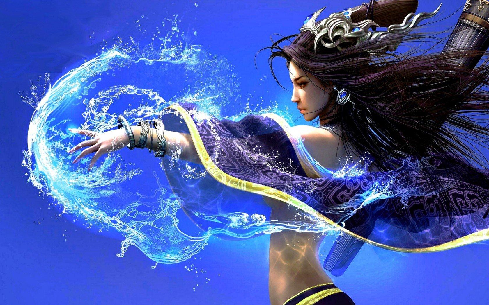 Water Goddess Computer Wallpapers Desktop Backgrounds 1680x1050 1680x1050