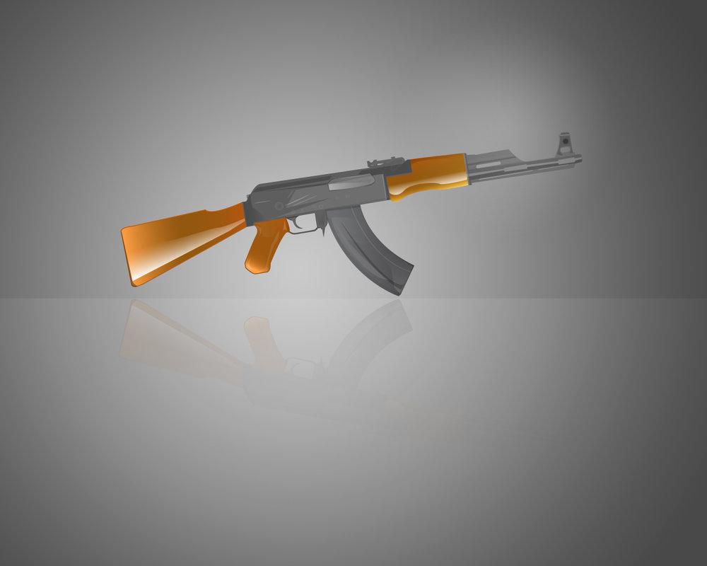 AK 47 Wallpaper by thisko on deviantART 1000x800