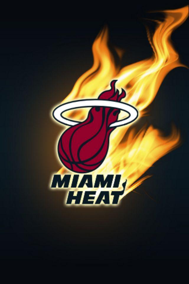 Miami Heat iPhone Wallpaper HD 640x960