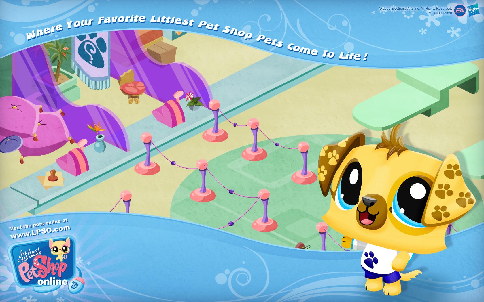 Littlest Pet Shop Lps Logo 1680x1050