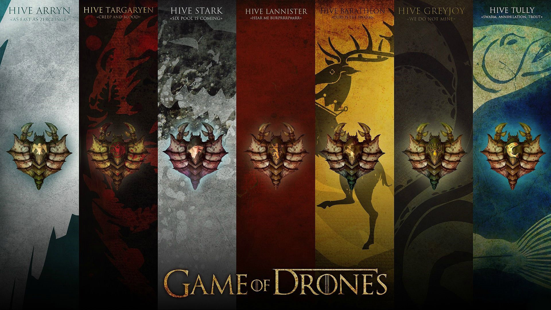 Game of Drones HD Wallpaper Game Of Thrones Wallpapers 1920x1080