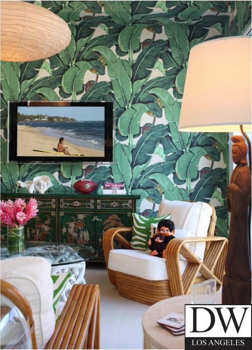 Beverly Hills Martinique Banana Leaf Wallpaper 500x694