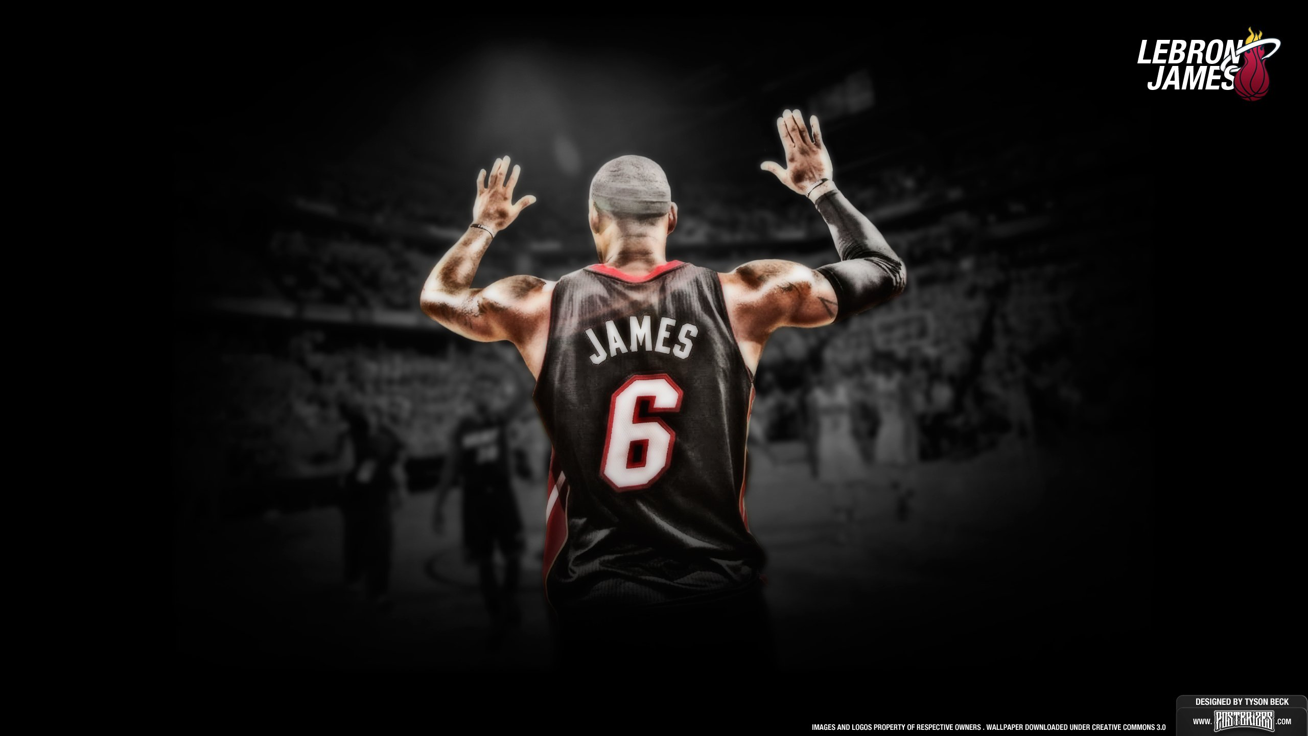 Free Download Lebron James Miami Heat Wallpaper 1371240 2560x1440