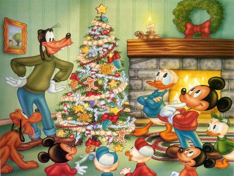 disney christmas 2   Disney Christmas Wallpaper 27836464 800x600