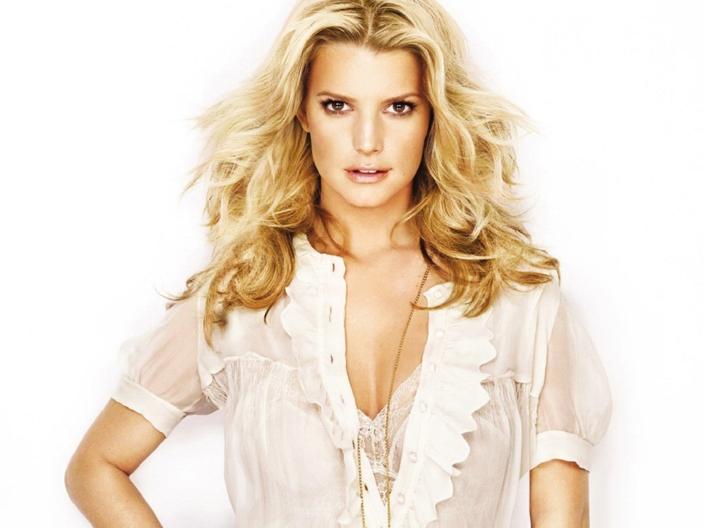 Jessica Wallpaper   Jessica Simpson Wallpaper 22358471 1024x768