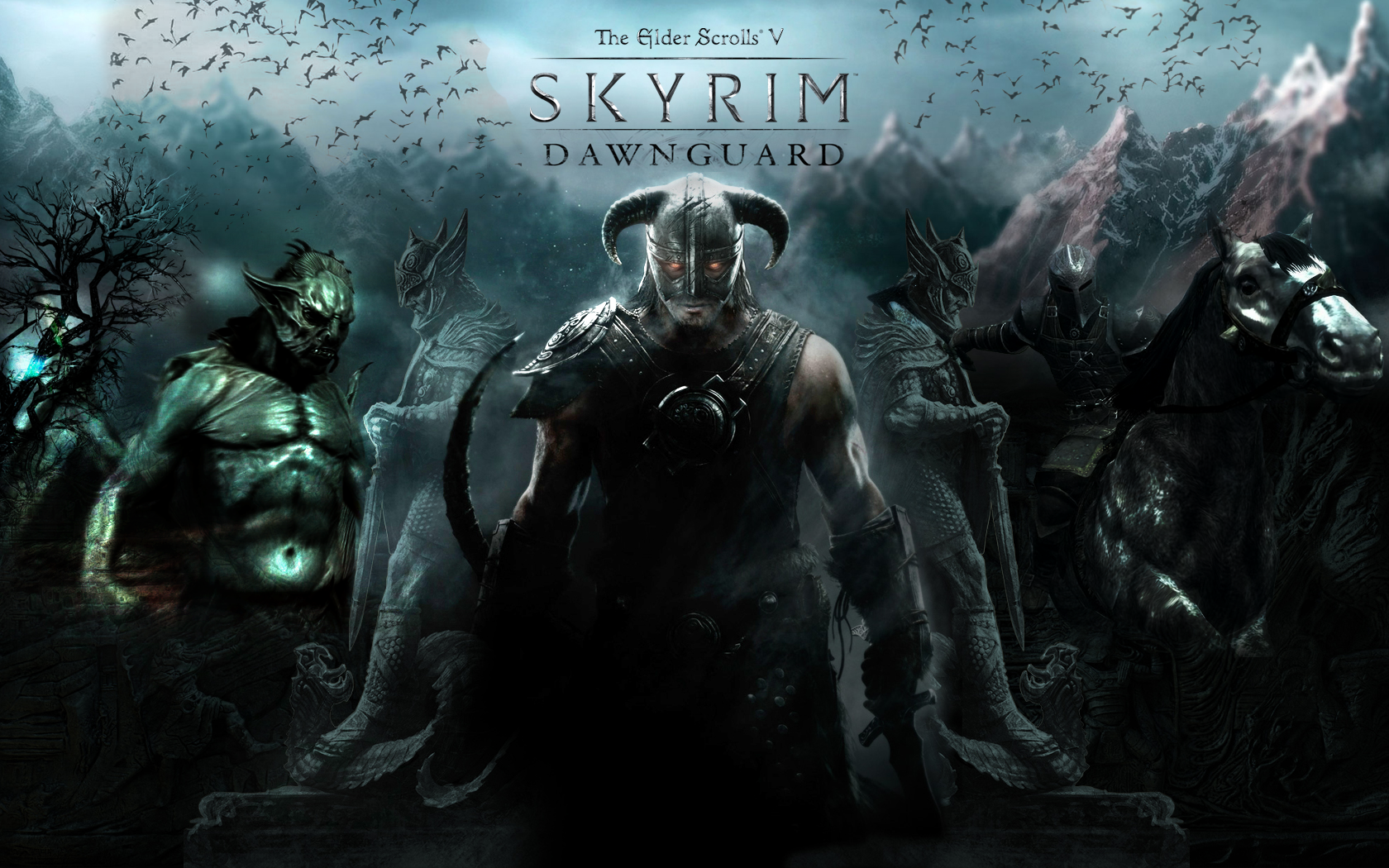 Skyrim dawnguard wallpaper wallpapersafari skyrim dawnguard wallpapers high definition hd games wallpaper voltagebd