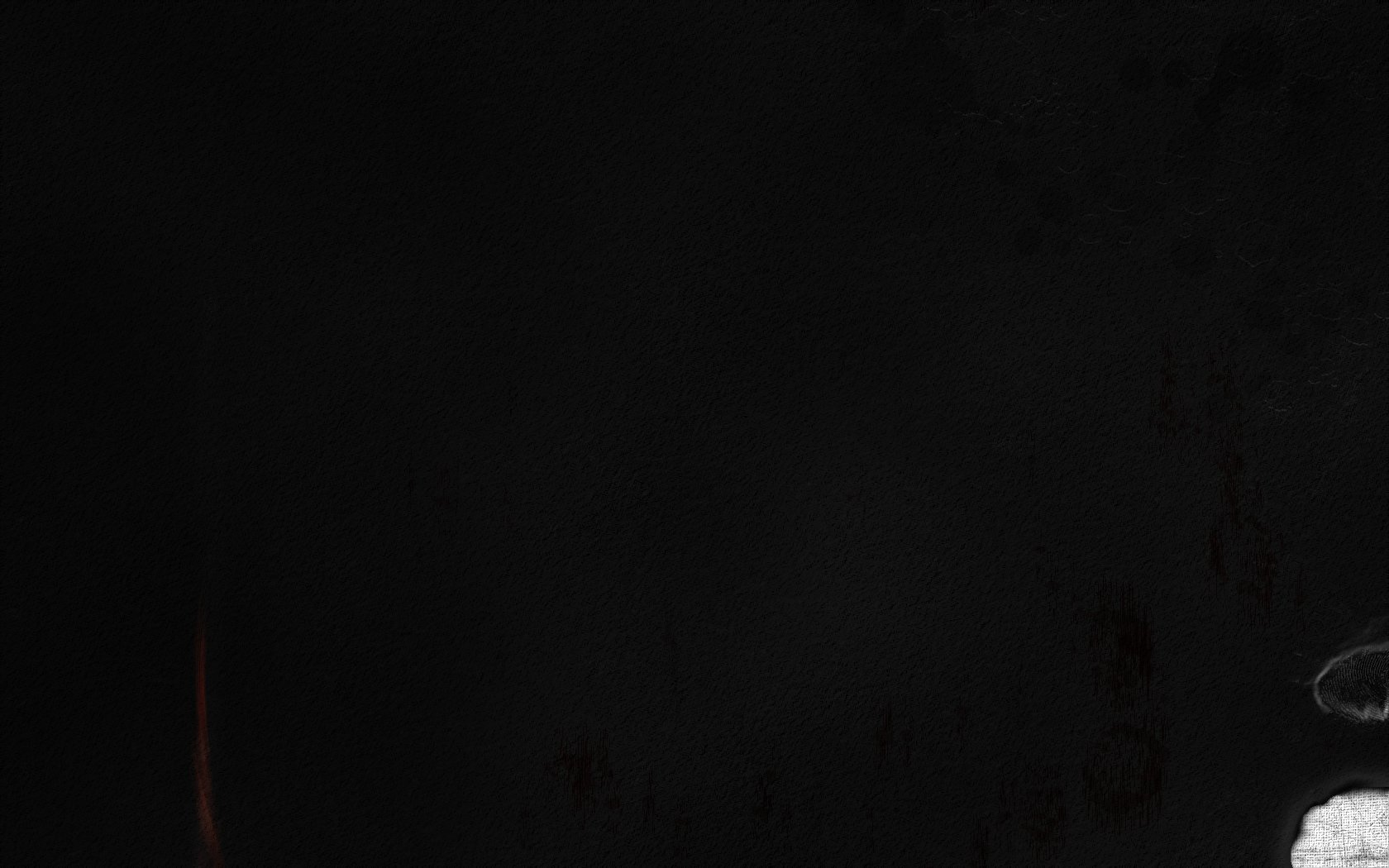 Black Grunge Wallpaper Grunge corner black by 10r 1680x1050