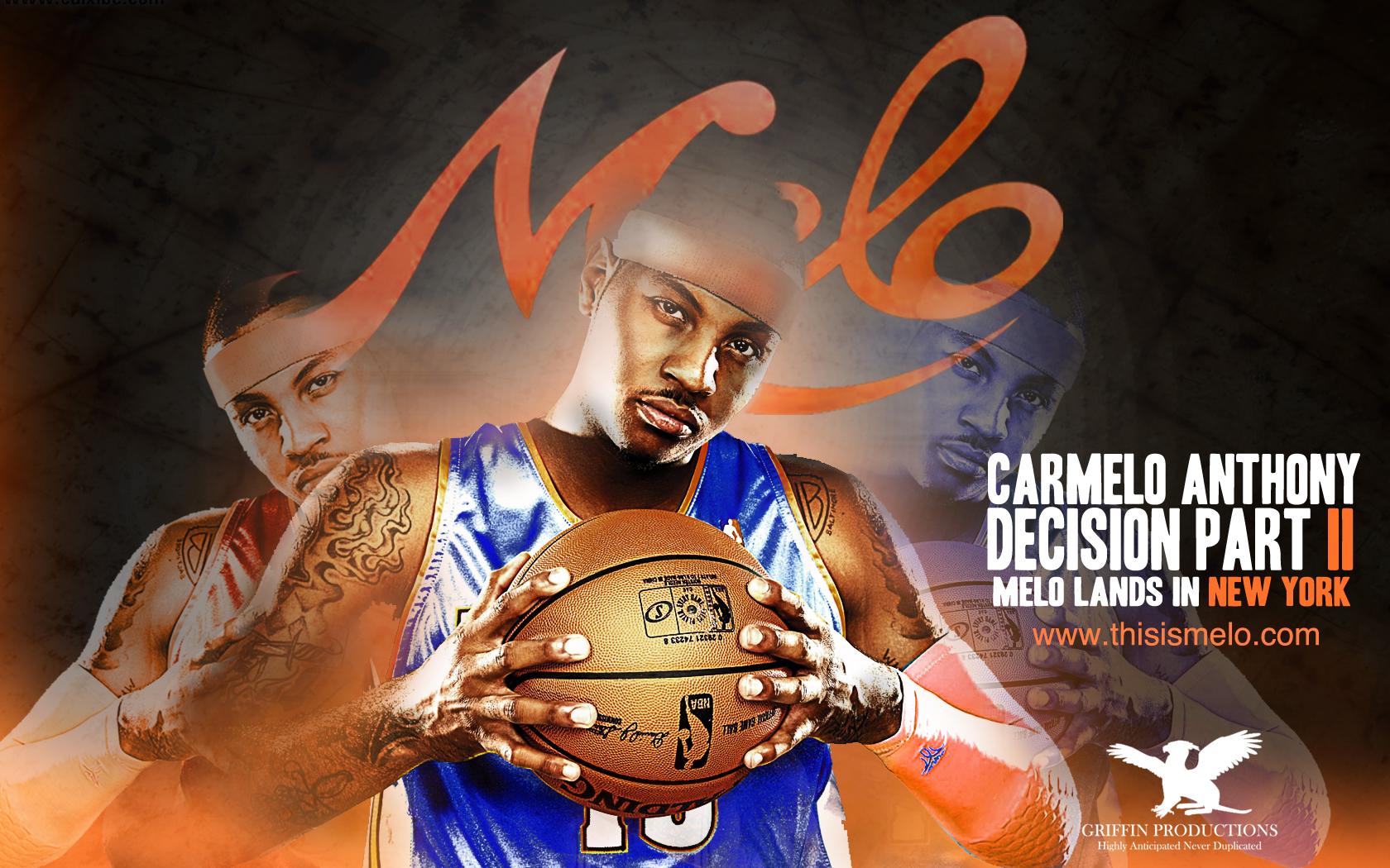 Knicks Carmelo Antony Wallpaper 1680x1050
