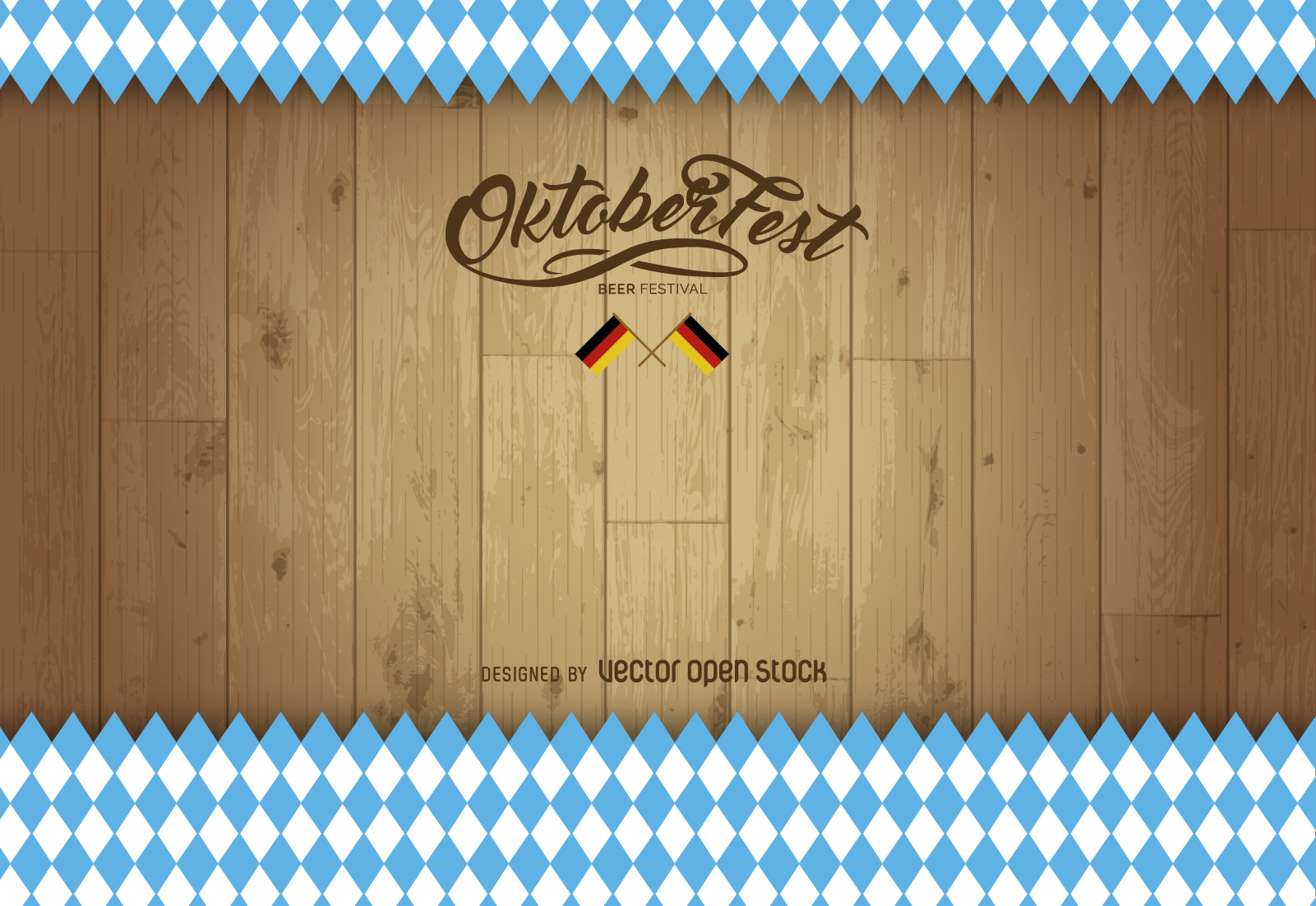 Free download Oktoberfest wood background Vector download