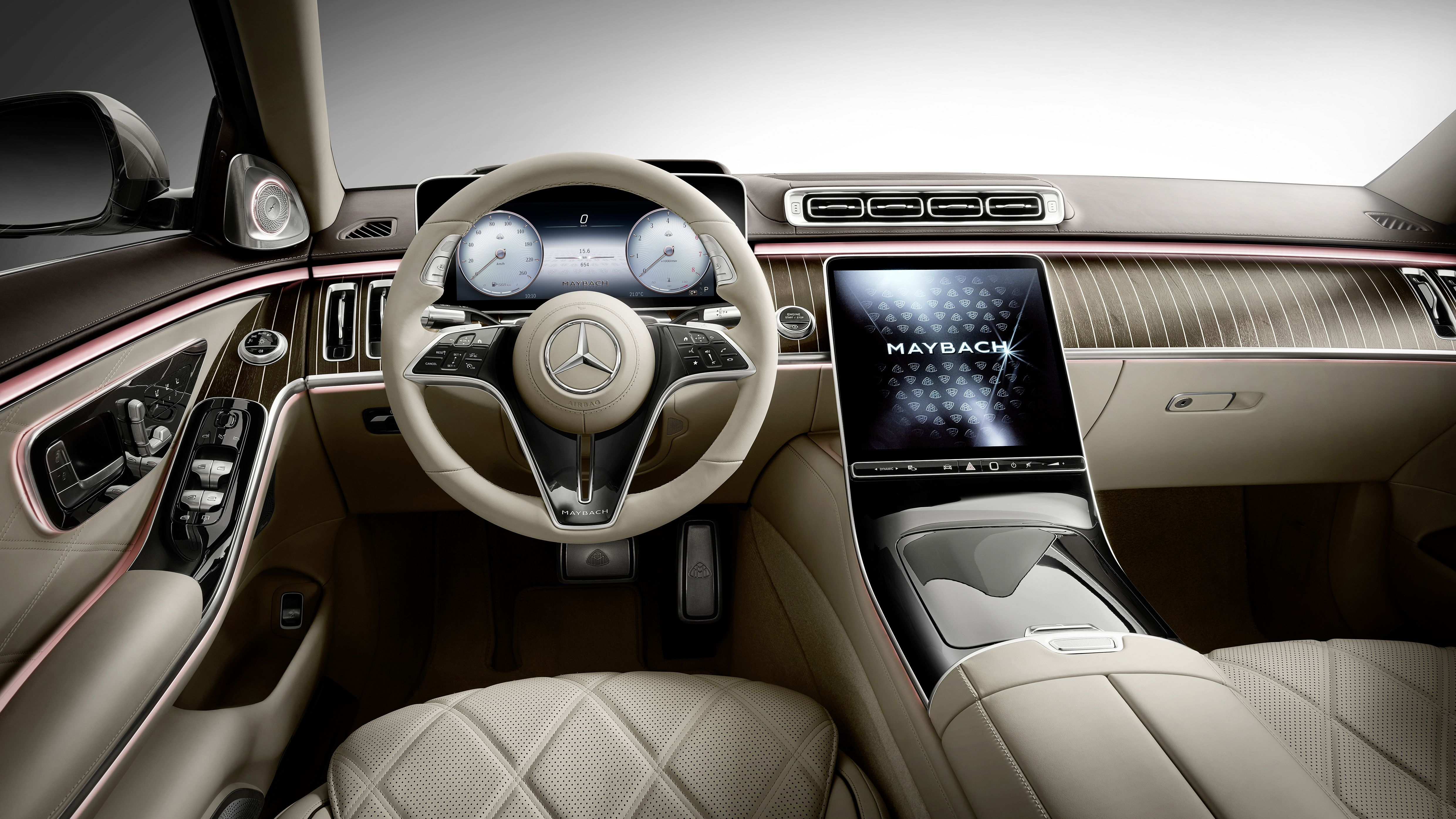 Mercedes S Class Maybach Interior 4k Mercedes S Class Maybach 4961x2791