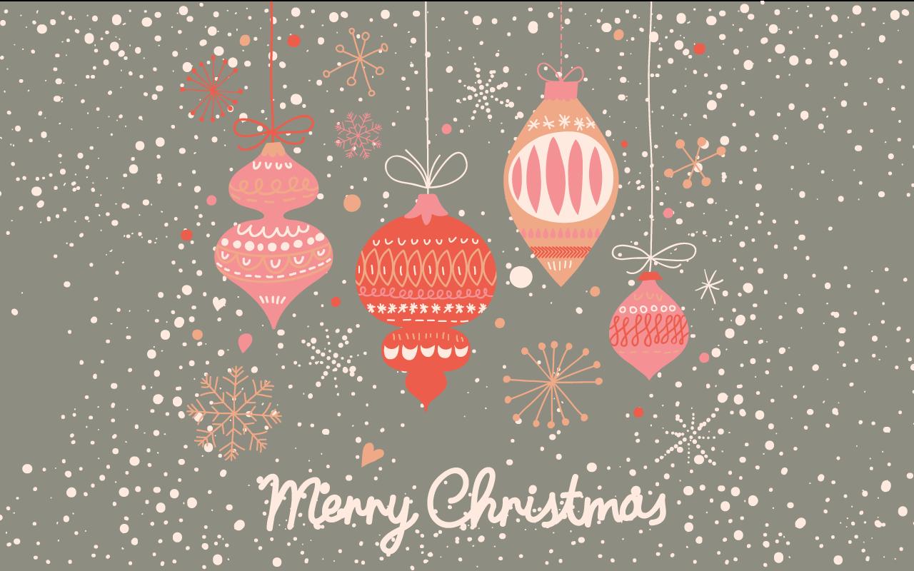 Wallpaper Cute Christmas Wallpapers Best Santa Waiting 1280x800