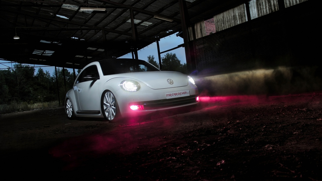 2013 Volkswagen Beetle by MR Car Design Wallpaper HD Car Wallpapers 1280x720
