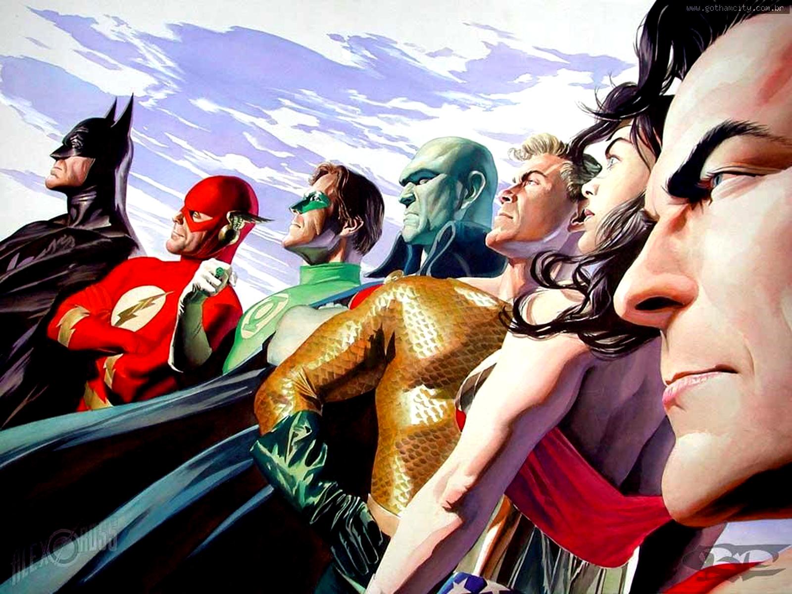 Download DC Comics All Characters HD Desktop WallpapersHigh 1600x1200
