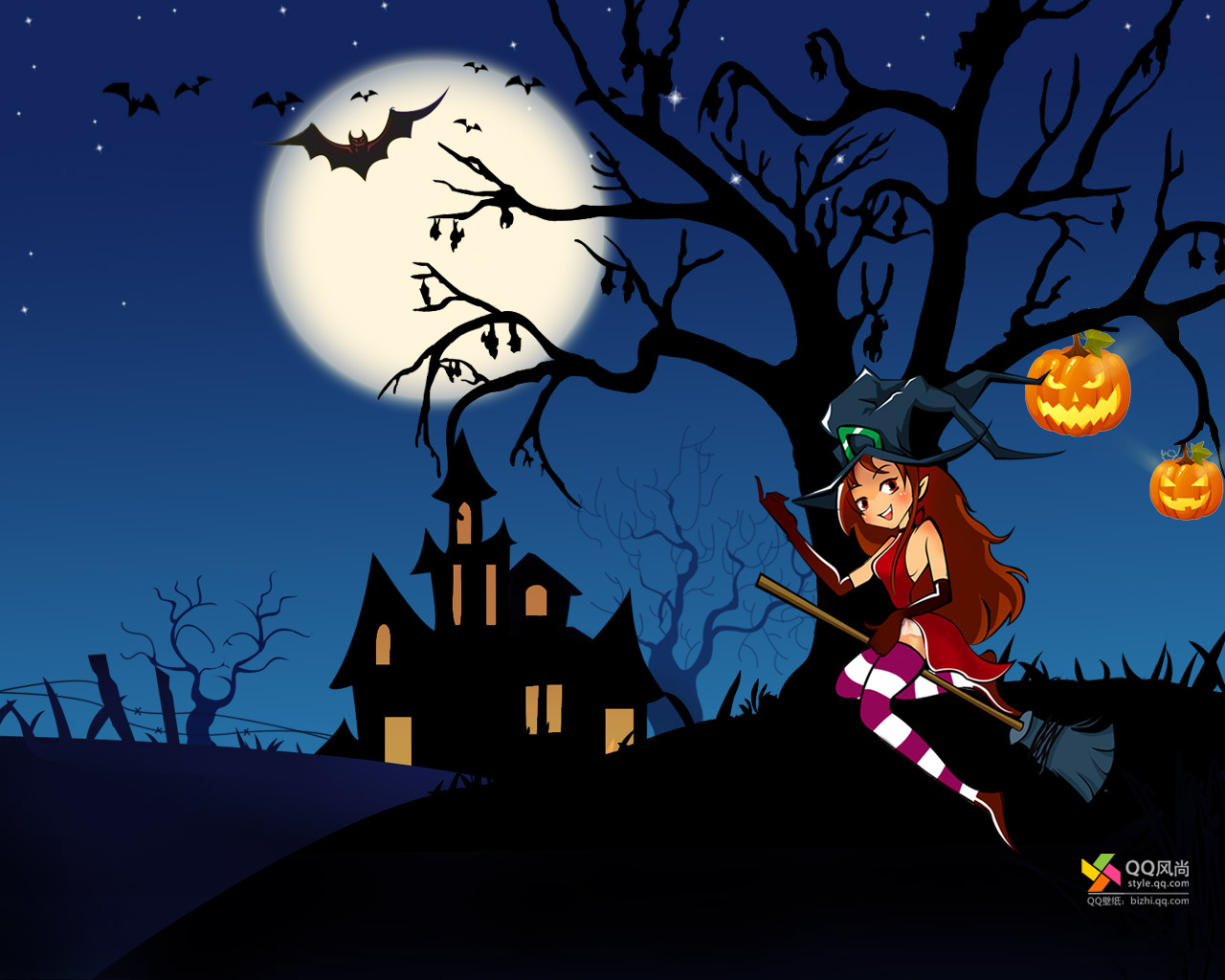 Witch wallpaper 1280x1024