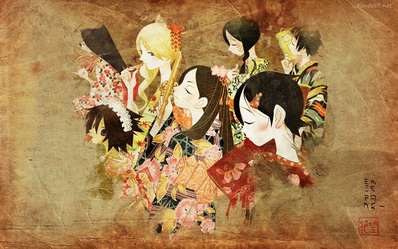 Japanese Art Wallpaper  WallpaperSafari