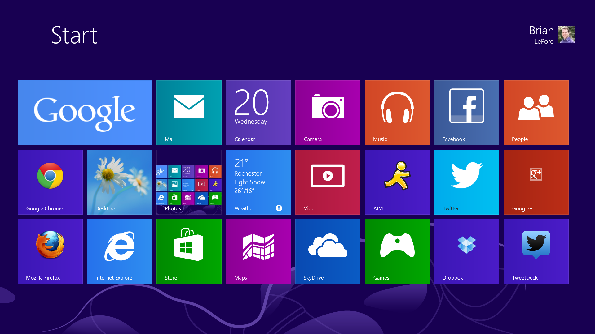 Live Wallpaper for Microsoft Surface