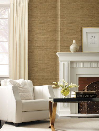 grasscloth with white woodwork Dental office Pinterest 377x500