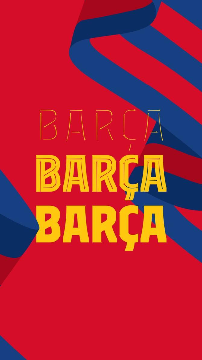 FC BARCELONA WALLPAPER 2021 4K by SelvedinFCB 670x1192