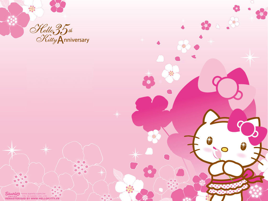 hello kitty wallpaper hello kitty wallpaper pink cute hello kitty 1024x768